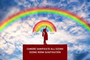 camere sanificate all'ozono